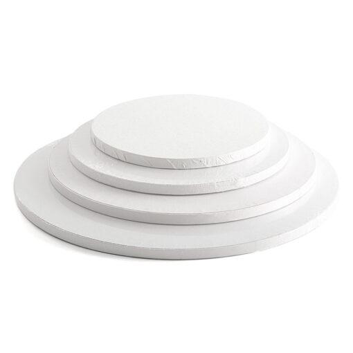 Cake Drum -Alb-Ø 40 cu 1.2 cm grosime -Decora