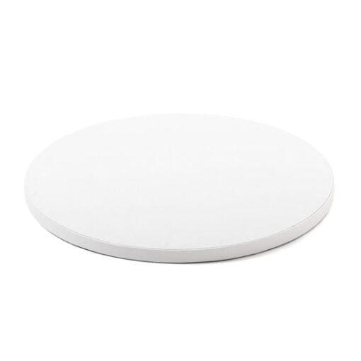 Cake Drum-Alb-Ø 45 cu 1,2 cm grosime-Decora