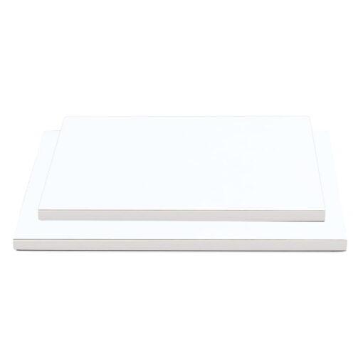 Cake Drum dreptungi -Alb-30x40cm, 1,2 cm grosime-Decora