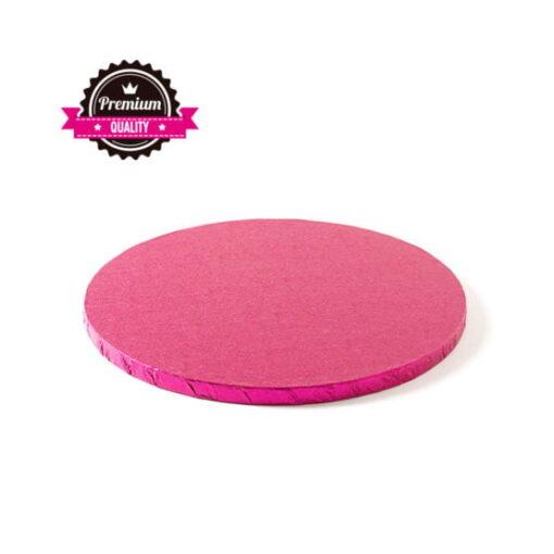 Cake Drum-Fucsia - Ø 25 cu 1.2 cm grosime -Decora