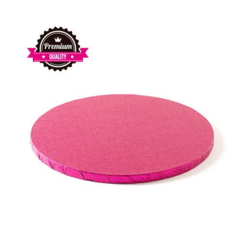 Cake Drum-Fucsia-Ø 30 cu 1,2 cm grosime-Decora