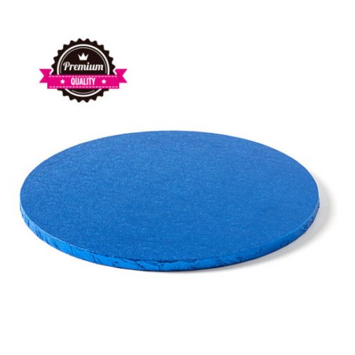 Cake Drum-Albastru-Ø 35 cu 1,2 cm grosime-Decora