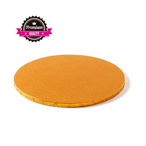 Cake Drum-Portocaliu-Ø 30 cu 1,2 cm grosime-Decora
