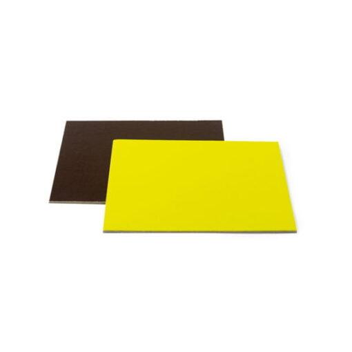 Planseta tort pătrat-Maro/Lime-Ø 24 x 3 mm -Decora
