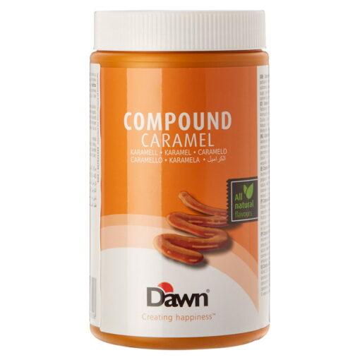 Pasta Aromatizanta Caramel ,Compound Caramel,1 kg - Dawn