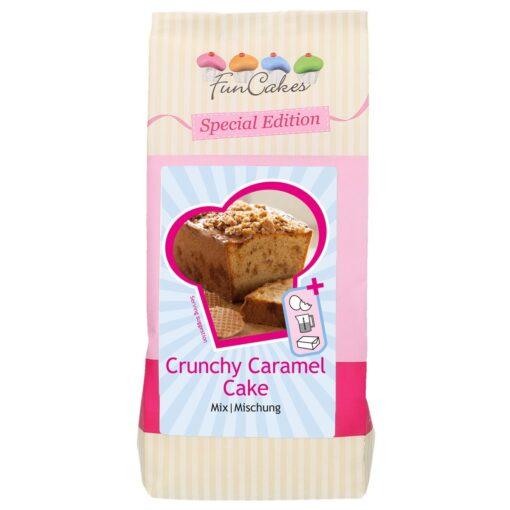 Mix prăitură cu caramel crocant-400g-Funcakes
