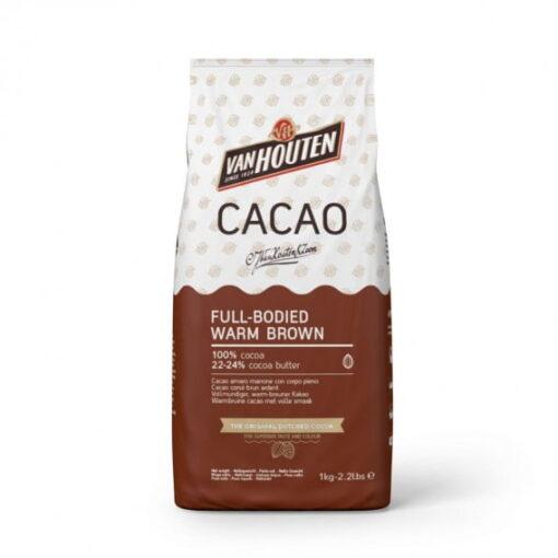 Cacao Pudra - 100 % cacao - Warm Brown - 1kg - VanHouten