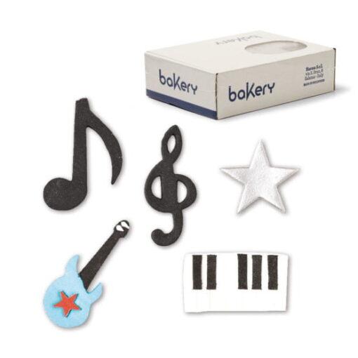 Set 75 buc-Note muzicale-3 si 4 cm-Decora