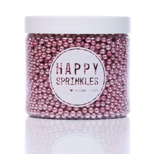Pink Pearls - 90 g - Happy Sprinkles