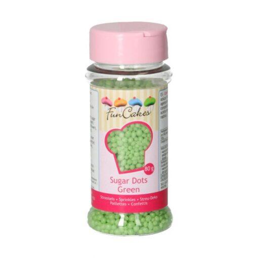 Perle zahar verde-80g-Funcakes