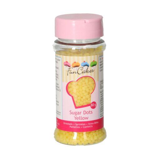 Perle zahar galben-80g-Funcakes