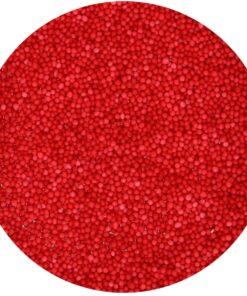 Perlute Zahar - Nonpareils Red - 80g - FunCakes