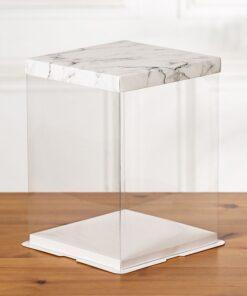 cutii tort transparente