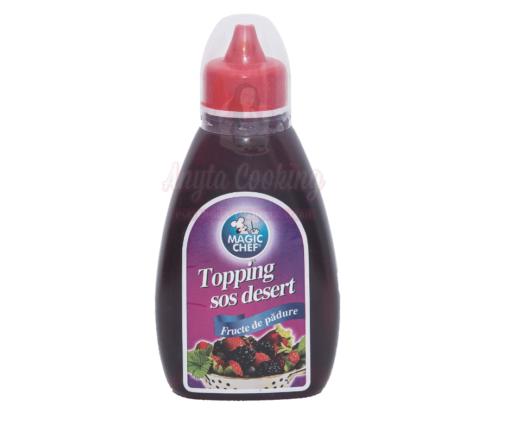 Topping cu aroma de fructe de padure - 420 g - Magic Chef