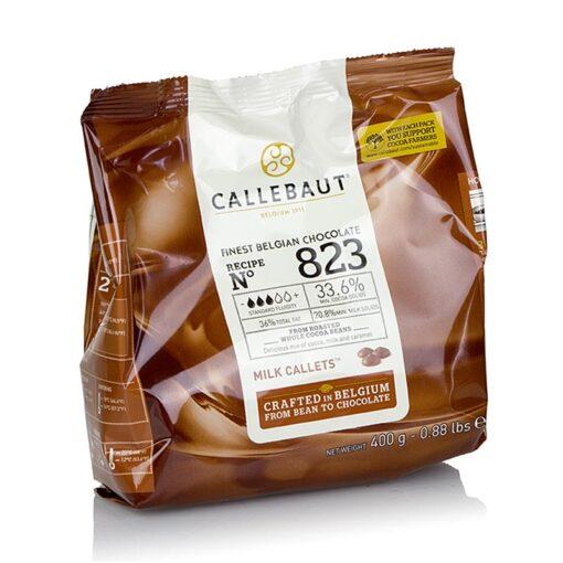 Ciocolata fina cu Lapte - 400 g -33.6% Cacao- Callebaut®