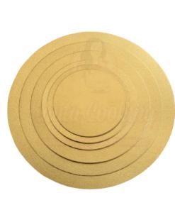 Disc tort rotund , auriu -2mm grosime-Anyta Cooking