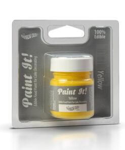 Colorant Alimentar pentru Pictat Galben - 25 ML - Rainbow Dust/Shantys