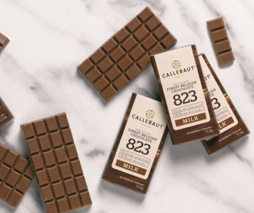 Mini Tableta de ciocolata cu lapte - 13,5 g - BARRY CALLEBAUT®