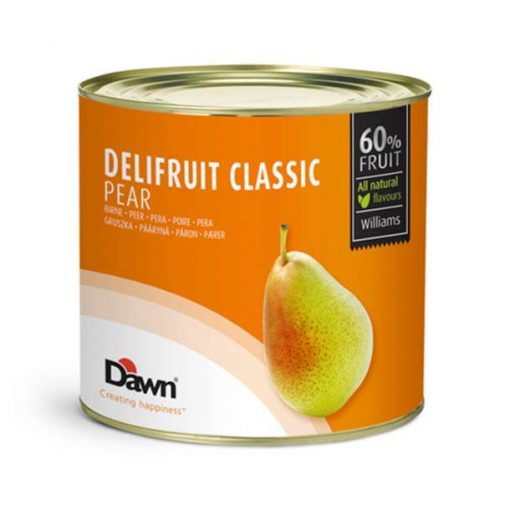 DELIFRUIT Umplutura de PERE -60 % frcut - 2,7kg - Dawn