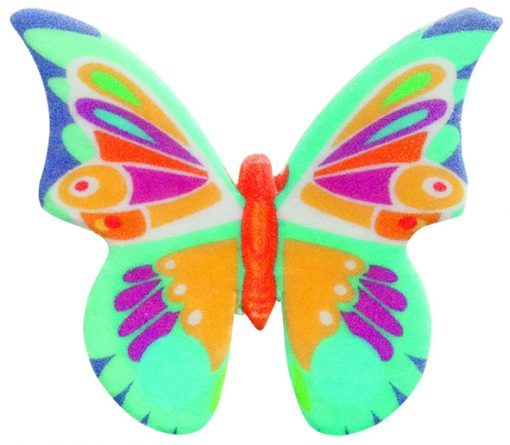 Set 200 Fluturi Superbe din Vafa comestibila -4cm - DeKora