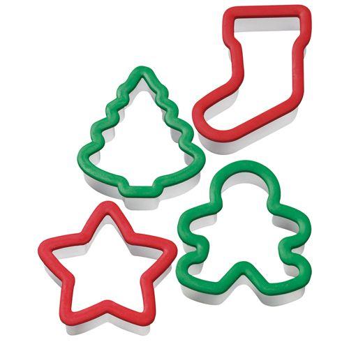 Set 4 buc de Decupatoare biscuiti-Forme de Craciun-5/10 cm-Wilton