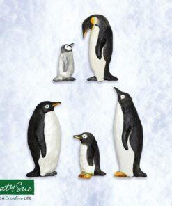 Mulaj din silicon - Familia Pinguin-Katy Sue