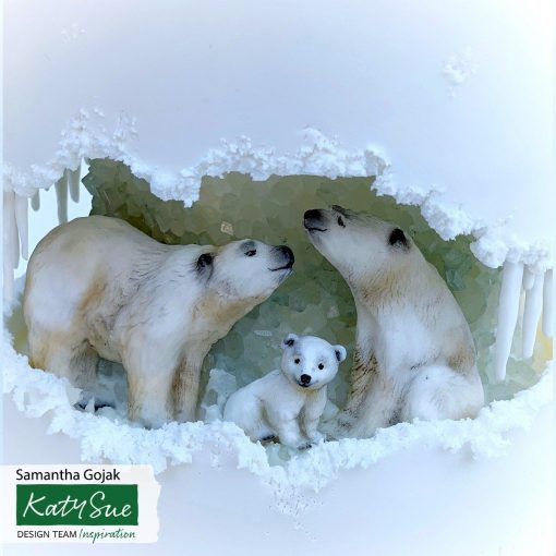 Mulaj din silicon-Familia Ursi Polari - Katy Sue