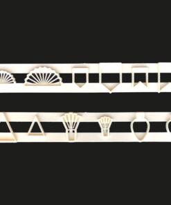 Set 2 buc Sablon decorativ-3/5 cm-FMM