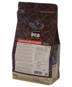 Ciocolată NEAGRĂ TERMOSTABILA - 43% Cacao - 1 kg - Irca