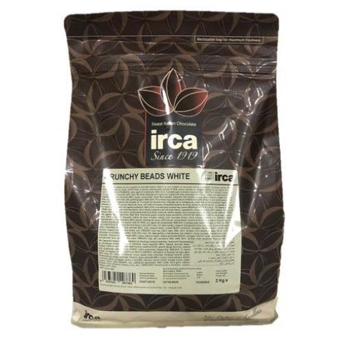 Sfere mici de cereale învelite în ciocolată albă - 2 kg - Irca