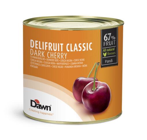 DELIFRUIT Umplutura de CIRESE NEGRE - 67 % frcut- 2,7kg - Dawn