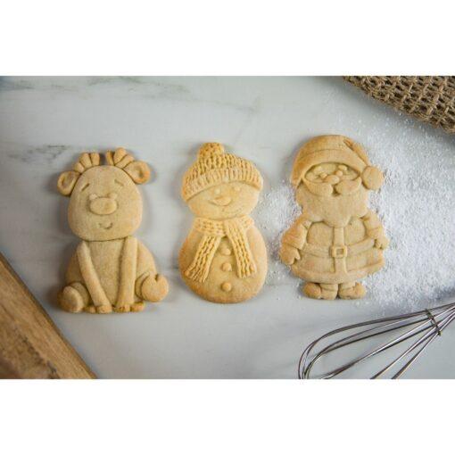 Mulaj din silicon - Biscuiti de Craciun-Karen Davis