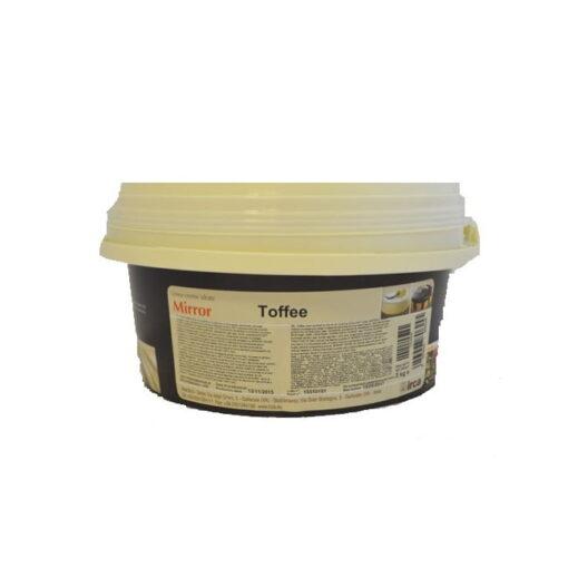 Glazură pentru acoperit - aromă de TOFFEE - 3 kg - Irca