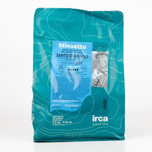 Ciocolată cu lapte SANTO DOMINGO Dropsuri - 38% Cacao - 2,5 kg - Irca
