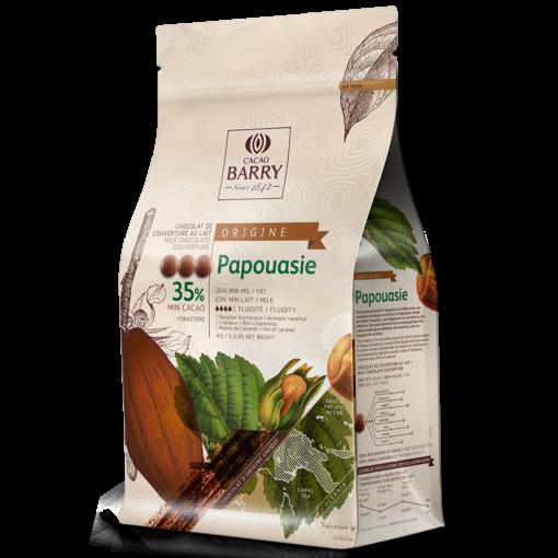 Ciocolată cu lapte PREMIUM - PAPUA NOUA GUINEE - 35,8% - 1kg - Cacao Barry®
