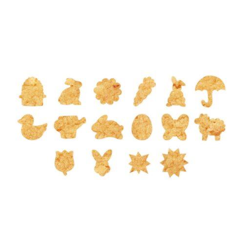 Set 16 buc Decupatoare de biscuiti - Nature- Scrapcooking