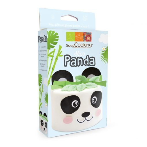 Set 15 buc Vafe comestibile pentru tort- Panda-9 cm x 16,5 cm-Scrapcooking