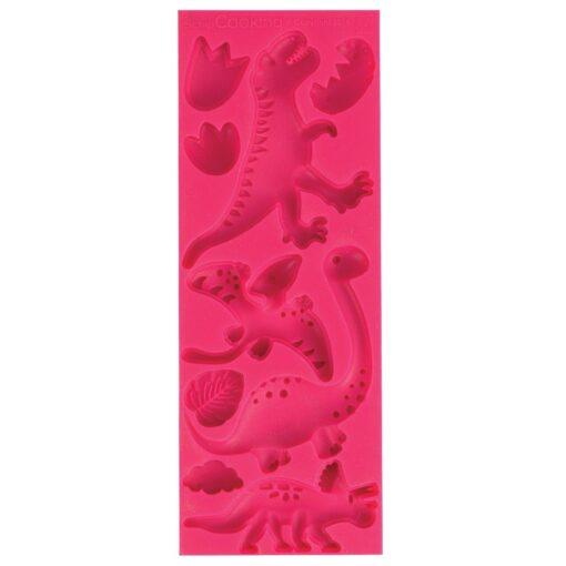 Forma de silicon-Dinozauri-16 x 6 x 0,8 cm-Scrapcooking