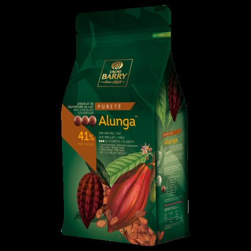 Ciocolată cu lapte PREMIUM - BARRY ALUNGA - cacao 41% - 1kg - Cacao Barry®