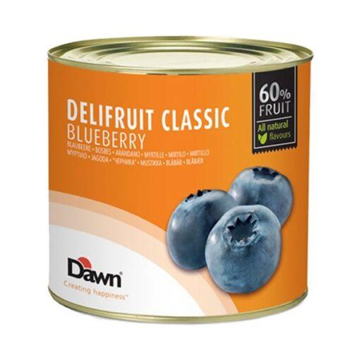 DELIFRUIT -Umplutura de AFINE - 60 % frcut - 2,7kg - Dawn