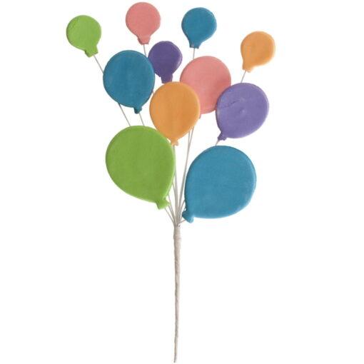 Set 12 Toppere tort balonase NECOMESTIBILE, 26 CM , DeKora