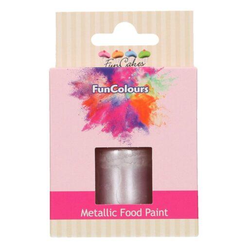 Colorant alimentar culoare VIOLET METALIZAT-30 ml- Funcakes