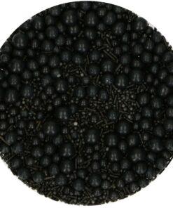 Decor din Zahar-SPRINKLE MEDLEY -NEGRU-65 gr-Funcakes