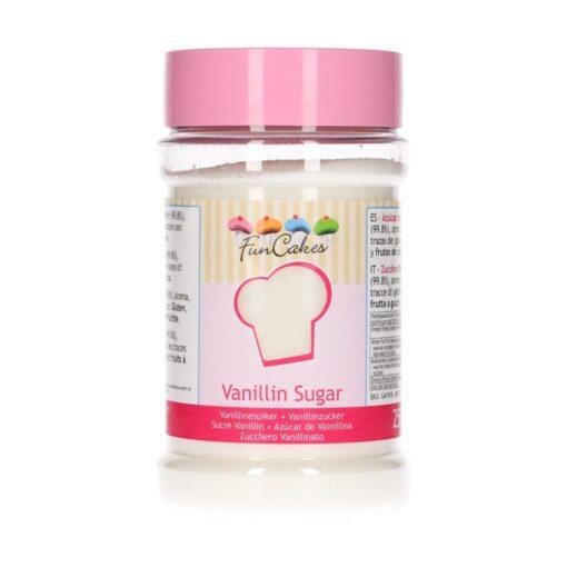 Zahar vanilat-250 gr-Funcakes