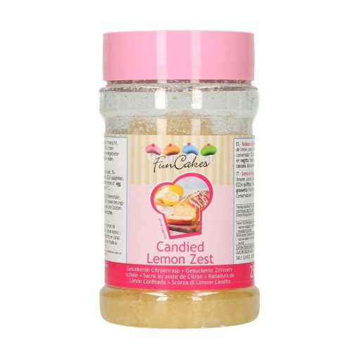 Coaja de lamaie confiata-250 gr-Funcakes