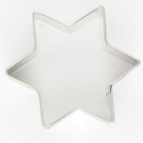 Decupator otel inoxidabil-Stea-6 cm-Cookie Cutter