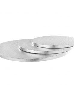 Cake Drum Rezistent Argintiu - 1,5 CM grosime - Anyta Cooking