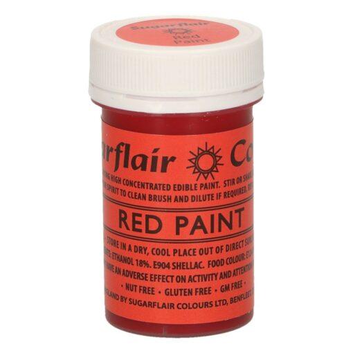 Colorant alimentar pt pictat--ROSU MAT-20 gr-Sugarflair