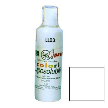 Colorant Alimentar Lichid Liposolubil, Alb, 180 ml - Azo Free
