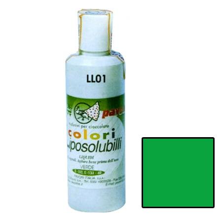 Colorant Alimentar Lichid Liposolubil, Verde, 180 ml - Pavoni